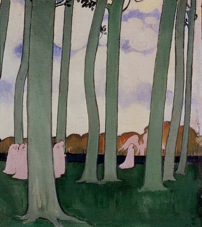Maurice Denis, Landscape with Green Trees, 1893