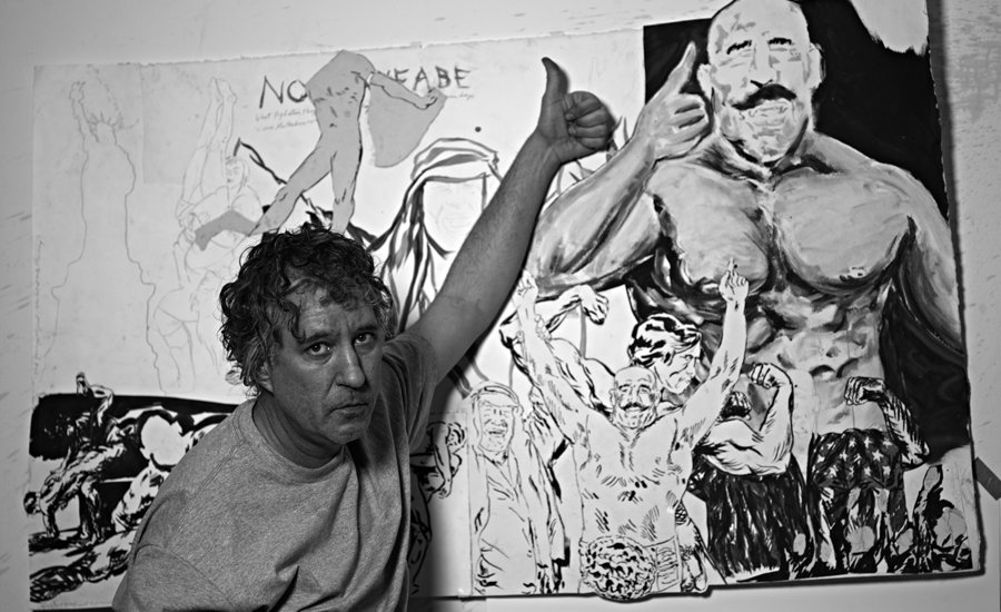 """The Language Is On Fire and You Just Spit It Out"": Massimiliano Gioni Interviews Raymond Pettibon"