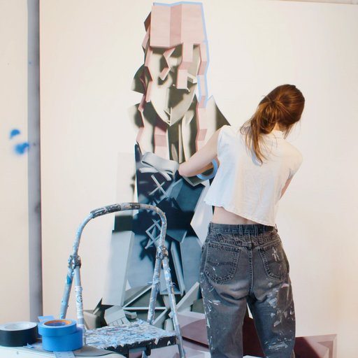 "Watch ""Avery Singer's Next Painting""—Art 21's Newest Short Video"