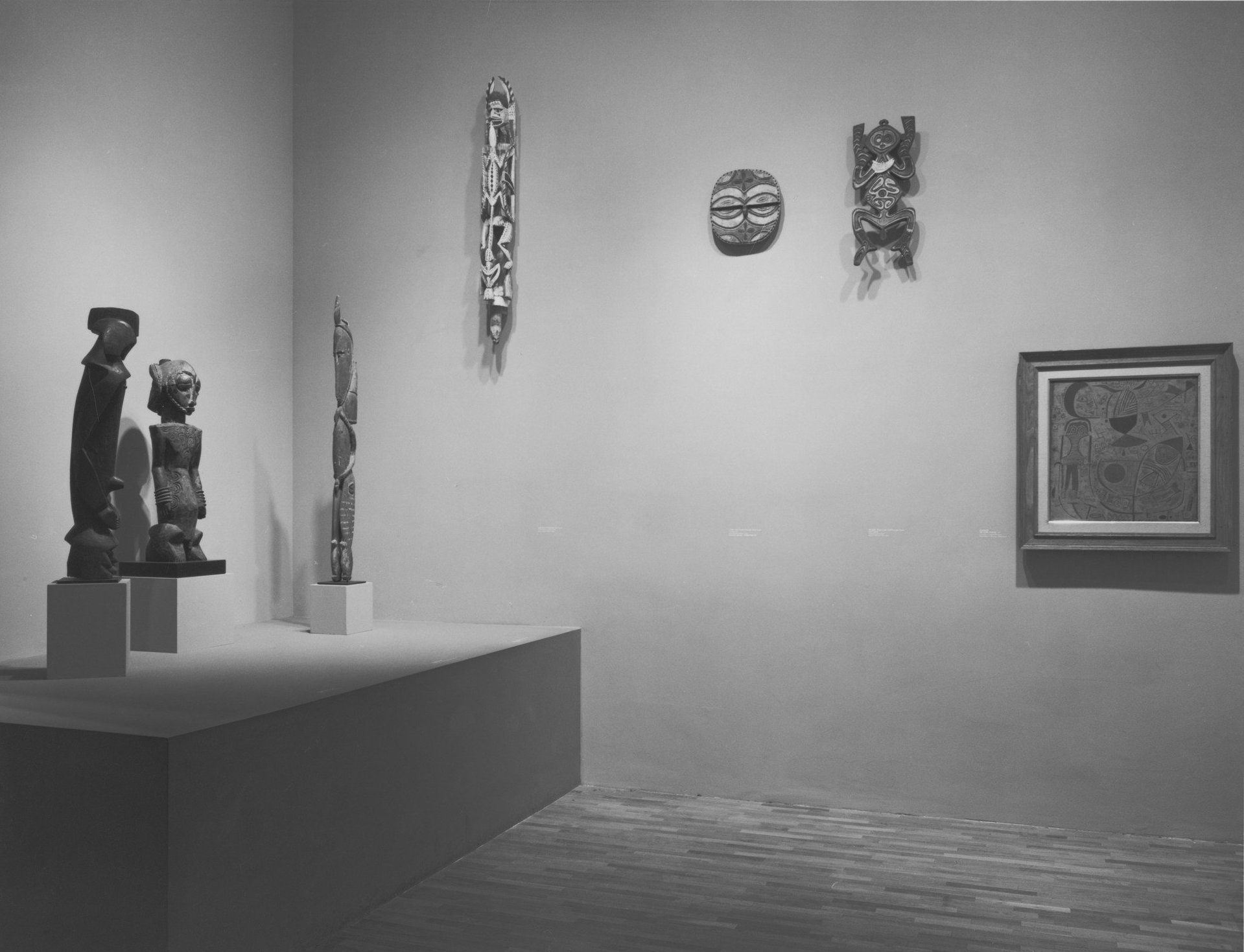 "the essays that changed art criticism forever art for  exhibition view of ""primitivism"" in 20th century art affinity of the tribal and the modern"