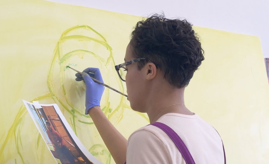 Jordan Casteel on Painting Black Men—Watch the Video