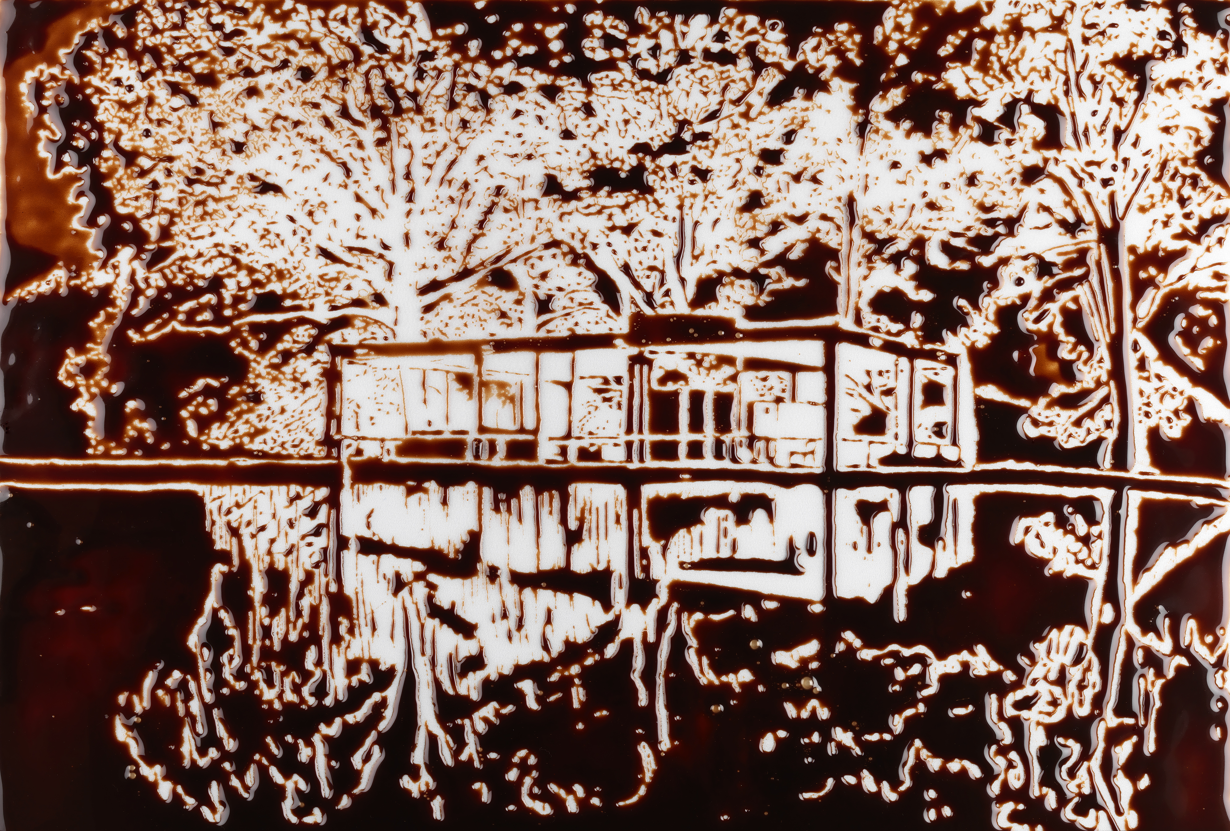 Tales From The Crypt 7 Famous Artists Describe Their Favorite Ideas About Printed Circuit Board On Pinterest Water Transfer Film Vik Munizs Glass House After Robin Hill Is Available Artspace For 7500 Or As Low 660 Month