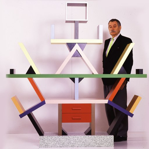 How Ettore Sottsass Brought the Poetics of Painting into Design and Architecture