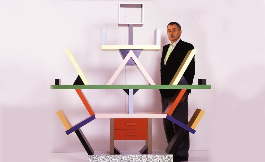 ettore sottsass  How Ettore Sottsass Brought the Poetics of Painting into Design and ...