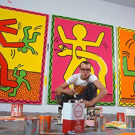 4 Reasons to Gift Keith Haring's Wooden Chair to a Creative Little One