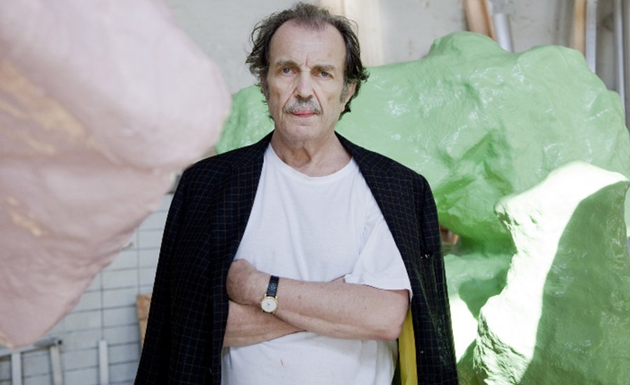 """The Perception of Art Takes Place Through the Pressure Points that Develop When You Lie on It"": A Q&A with Franz West"