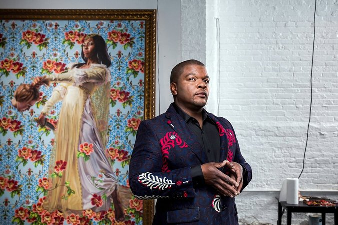 Kehinde Wiley NY Times