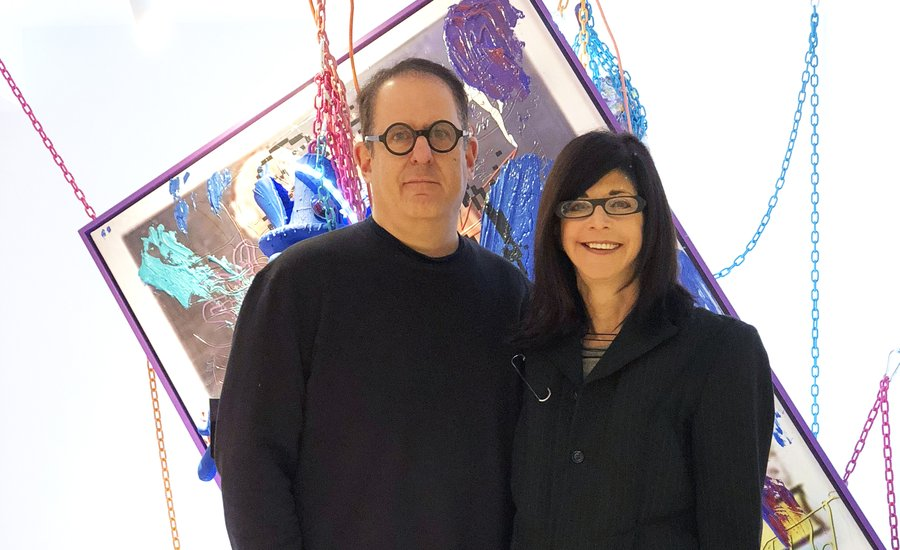 "Q&A: Baltimore-Based Collectors Larry Eisenstein and Robin Zimelman Find Joy in ""Difficult"" Post-2000 Art"