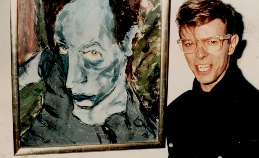 Ziggy Played Guitar (And Critiqued Art): David Bowie's Far-Out Influence on the Fine-Art World