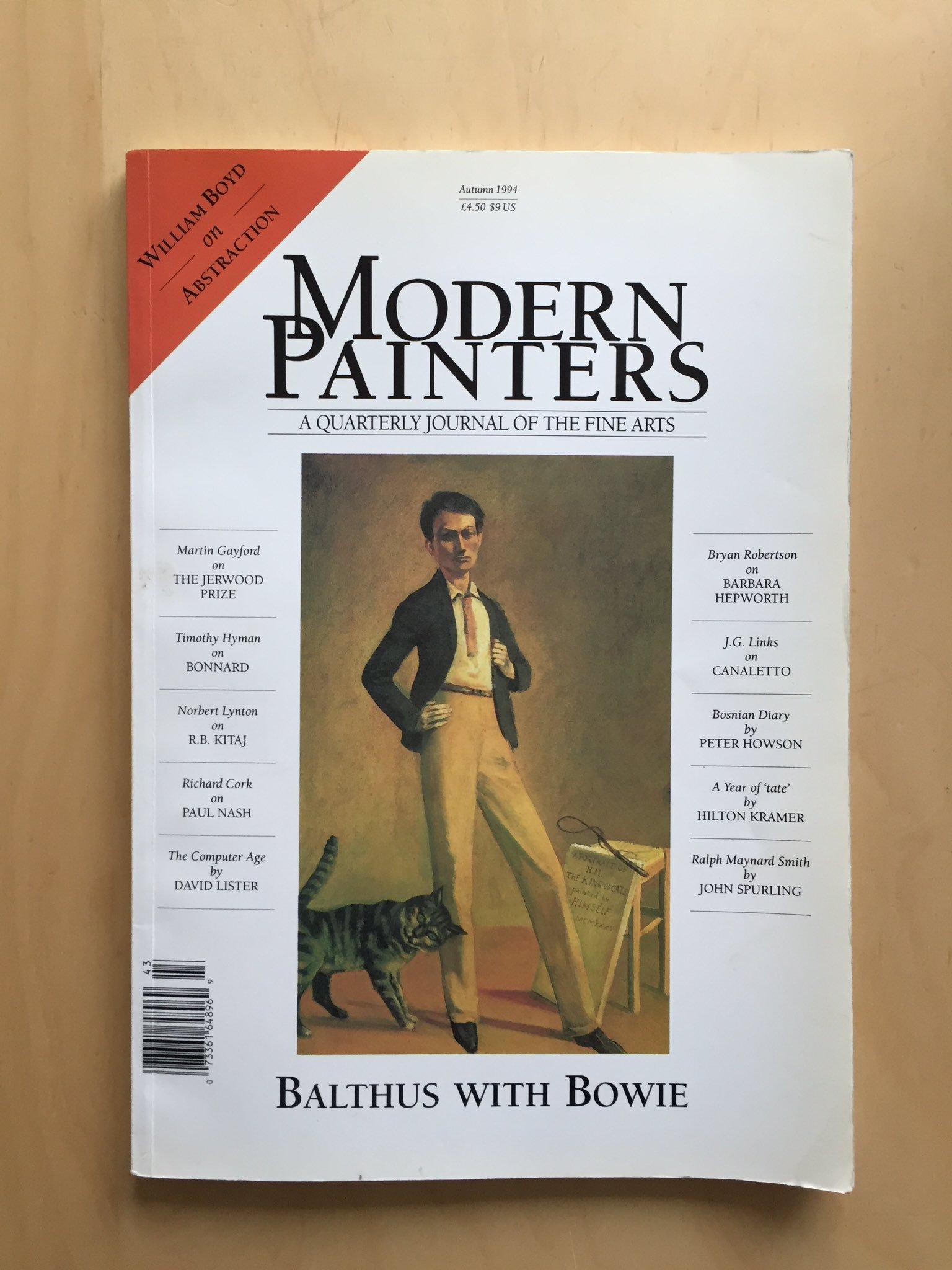 david bowie modern paintier