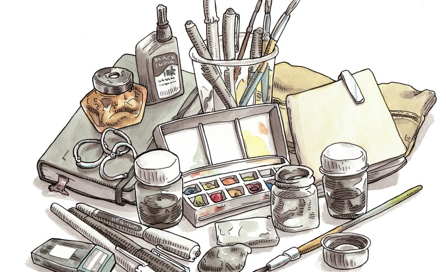 5 Steps to Starting a Sketchbook Habit—Whether or Not You