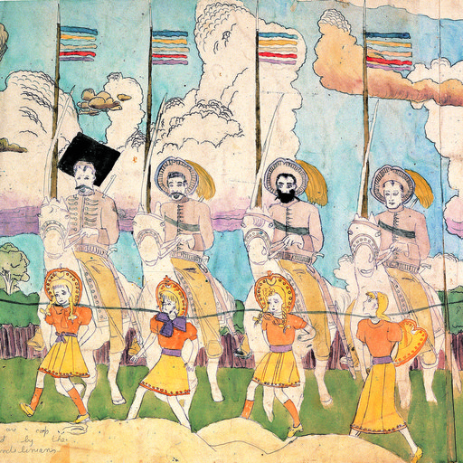 "The Mysterious Story of Outsider Artist Henry Darger & the Vivian Girls of the ""Realms of the Unreal"""