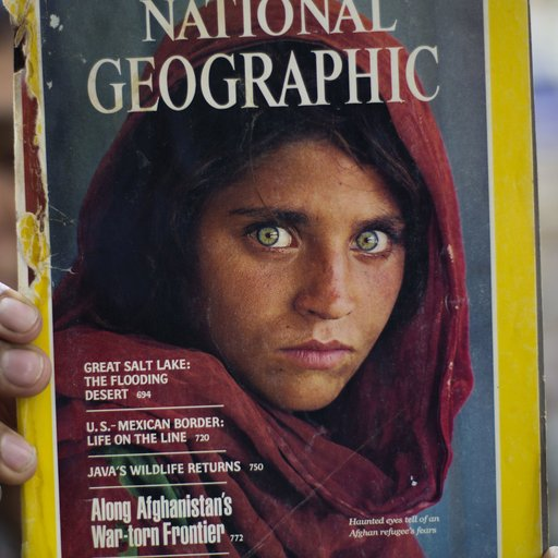 The Story Behind Steve McCurry's Iconic 'Afghan Girl'—And How He Found Her Again 20 Years Later