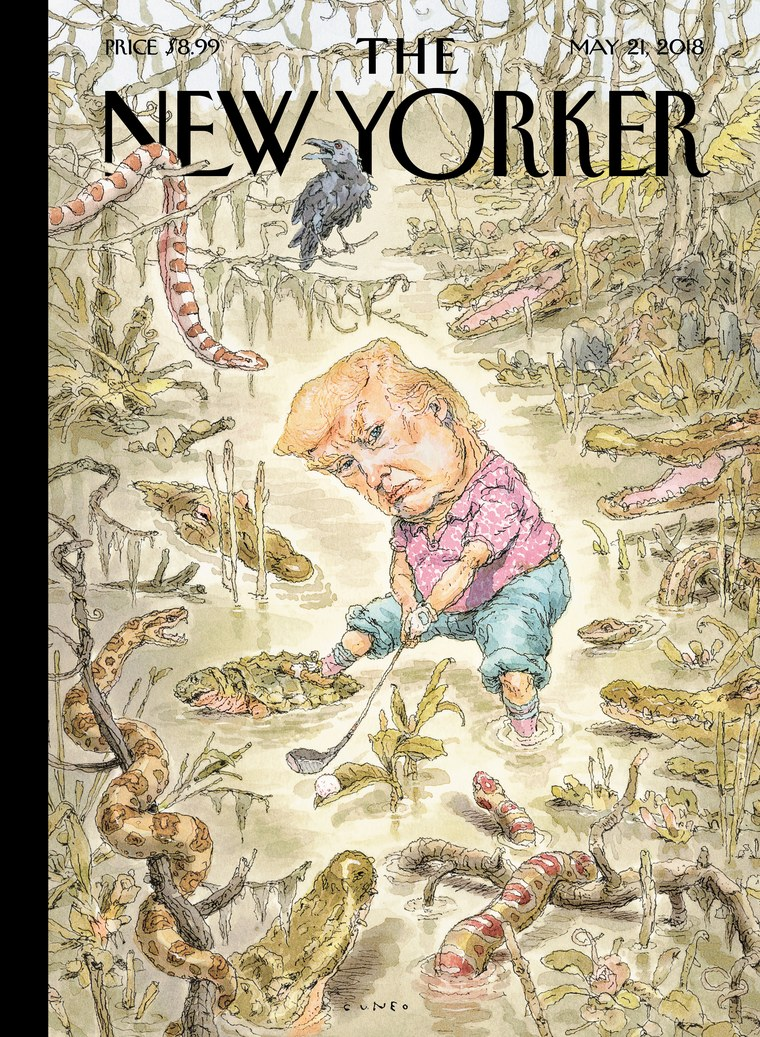 The New Yorker S History Of Political Cover Art And What It Tells
