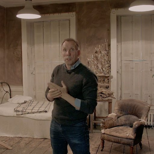 Video: A Look Inside Lucian Freud's Painting Studios