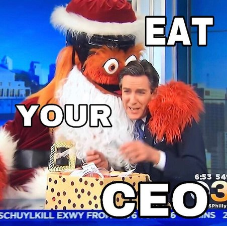 Eat your CEO