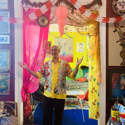 Inside the East Village Apartment of Artist, Musician, and Legendary Drag Queen, Tabboo!