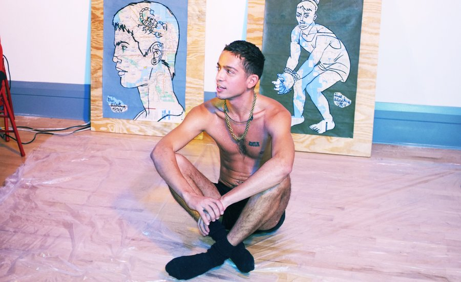 """We're All Brothers and Sisters"": Artist Gio Black Peter on Uncensoring Queer Lifestyles"