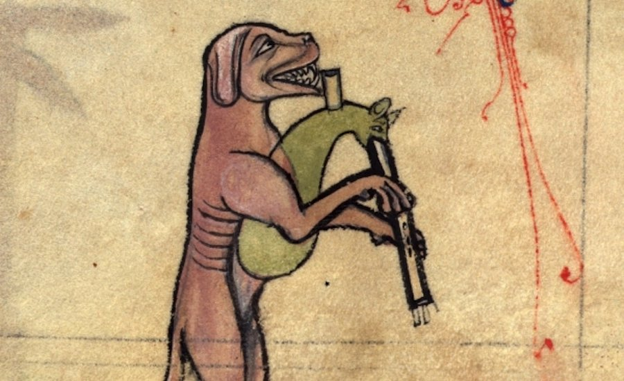 Want to Laugh at Some Paintings? Here Are 6 Super Ugly Medieval Dogs