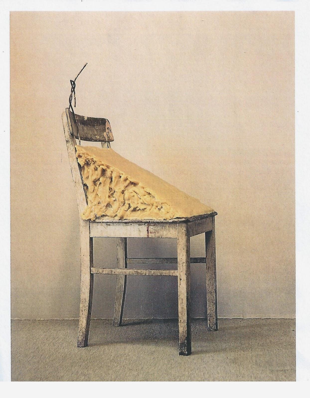 Джозеф Бейс, жирный стул, 1964 - 1985