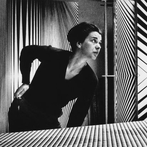 The Dizzying Sudden Success of Op Artist Bridget Riley