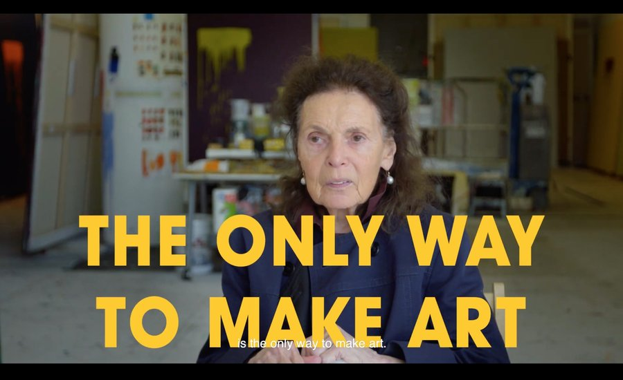 Video: A Studio Visit with Pat Steir as She Prepares for the Hirshhorn