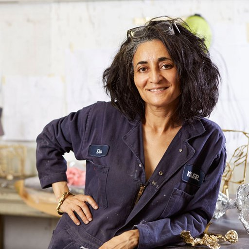 A Q&A with Ghada Amer