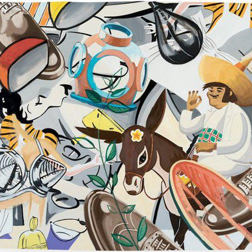 What to Say About Your New David Salle Print