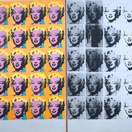 ANATOMY OF AN ARTWORK 'Marilyn Diptych, 1962' by Andy Warhol