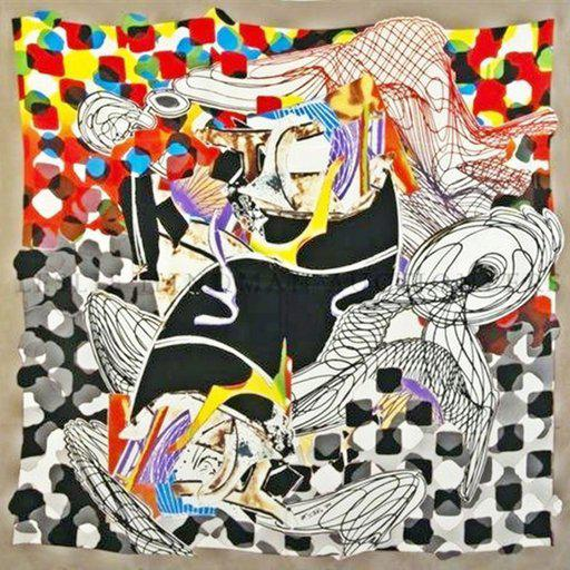 What to Say About Your New Frank Stella Print