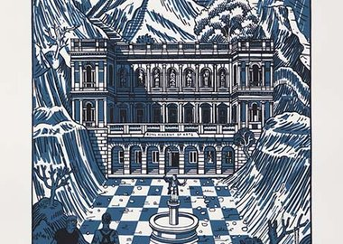 Adam Dant - The Discovery of Burlington House