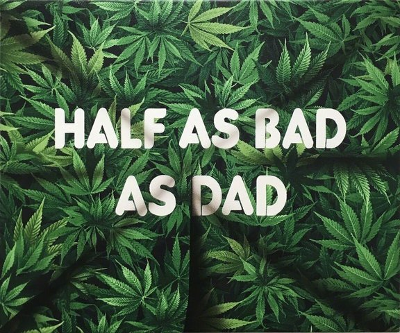 Adam Mars - Half As Bad As Dad, Painting