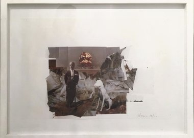 work by Adrian Ghenie - Study for the Devil Three