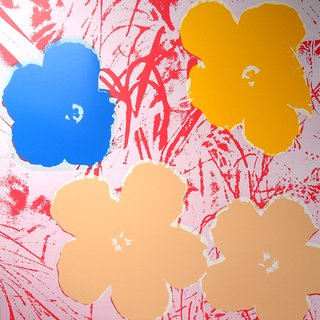 After Andy Warhol, Flowers 11.70
