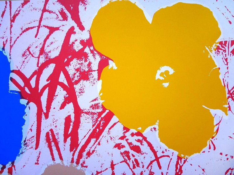 After Andy Warhol, Flowers 11.70 -