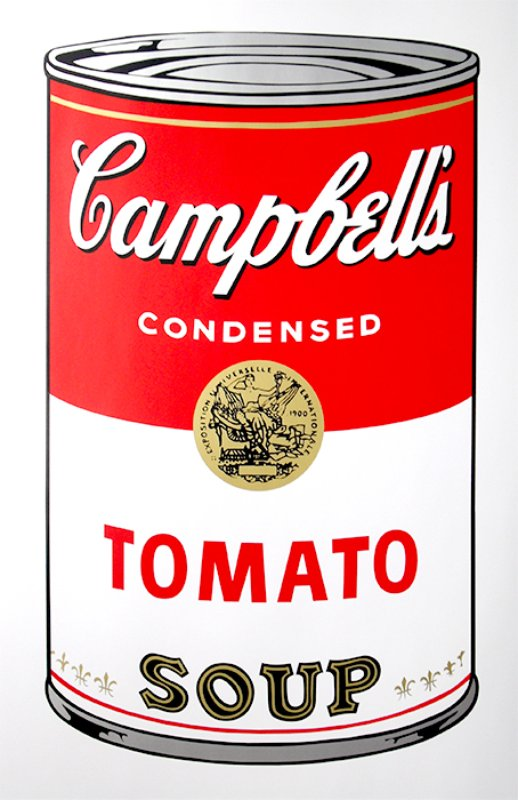 After Andy Warhol, Campbell's Soup - Tomato