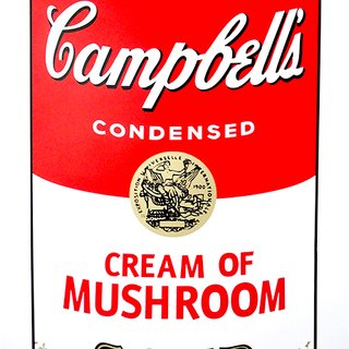 Campbell's Soup - Mushroom art for sale