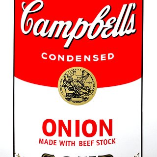 Campbell's Soup - Onion art for sale