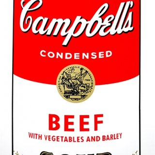 Campbell's Soup - Beef art for sale