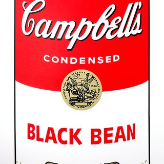 After Andy Warhol, Campbell's Soup - Black Bean