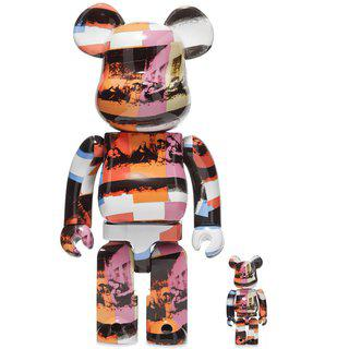 Bearbrick - ANDY WARHOL - THE LAST SUPPER 400% & 100% art for sale