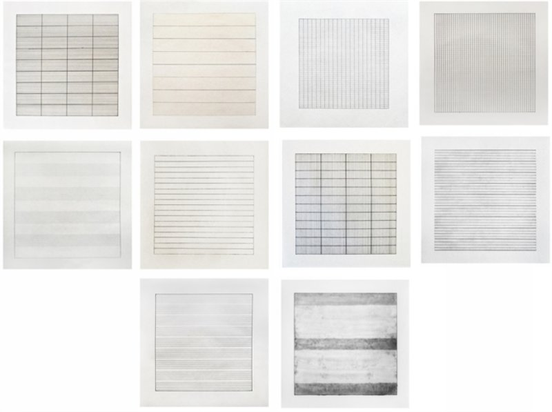 Agnes Martin, Paintings and Drawings: Stedelijk Museum Portfolio