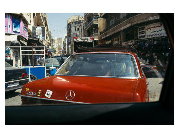 Ahmed Klink - Red Mercedes (Baby on Board)