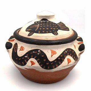 Lidded Jar art for sale