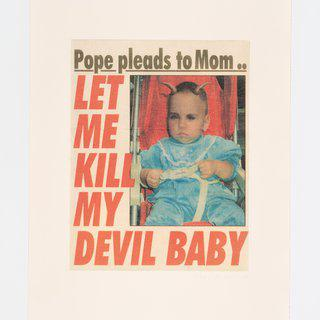 Albert Oehlen, Let me kill a devil baby
