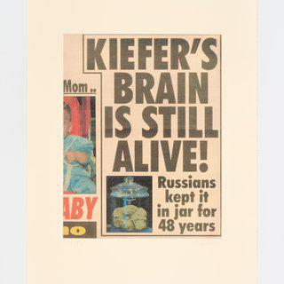 Kiefer's Brain is still alive art for sale