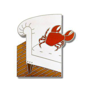 """Crab"" Brooch art for sale"