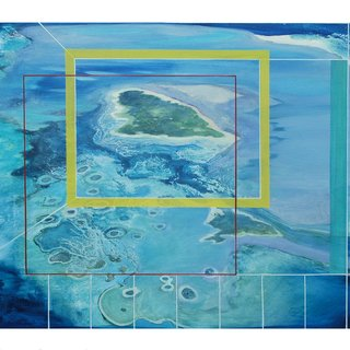 Sinking Islands VIII art for sale