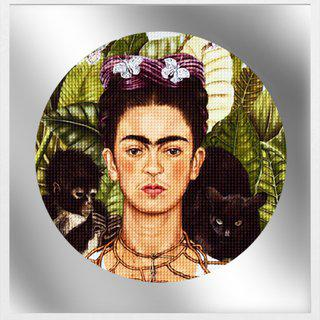 """Hard Headed Woman (Frida Vs. Salma)"" art for sale"