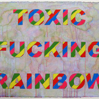 Toxic Fucking Rainbow art for sale